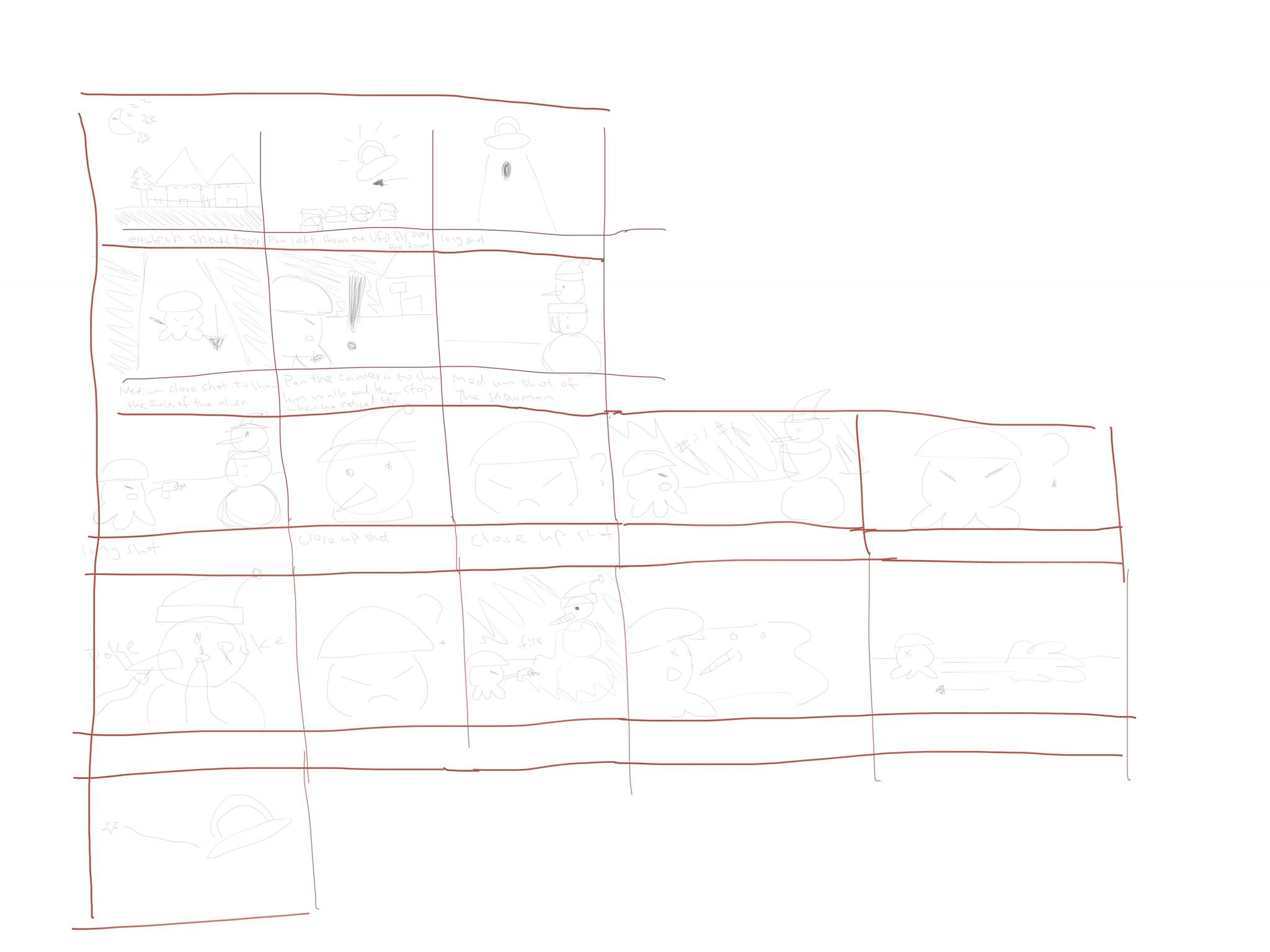 Sketch Claire 1