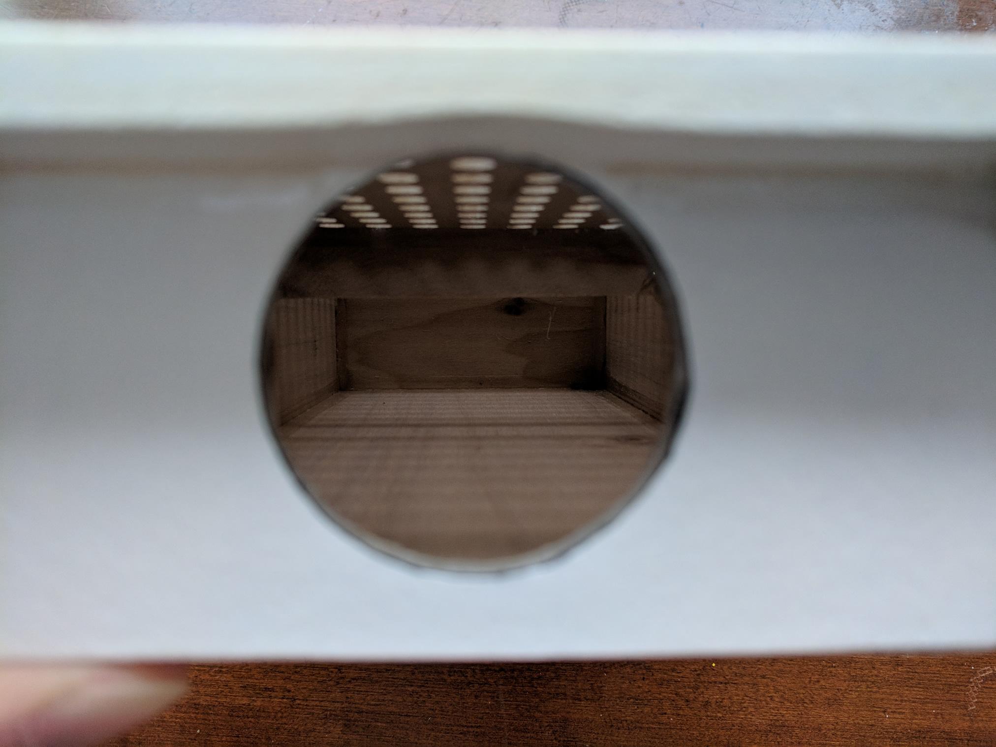 Vacuum Table Inside